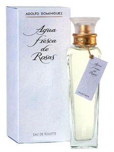 Fresh Rose Water Adolfo Domínguez | Best Floral Women perfumes